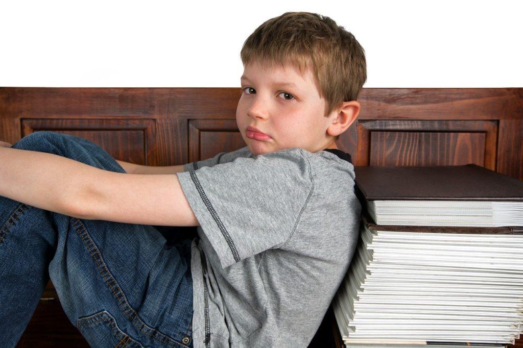 読みたい本を読みたい、と拗ねる少年
