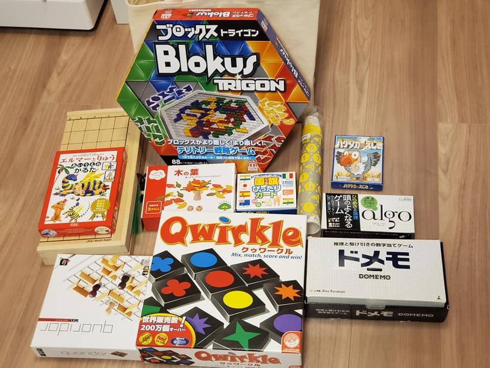 我が家のボードゲーム・カードゲーム一覧