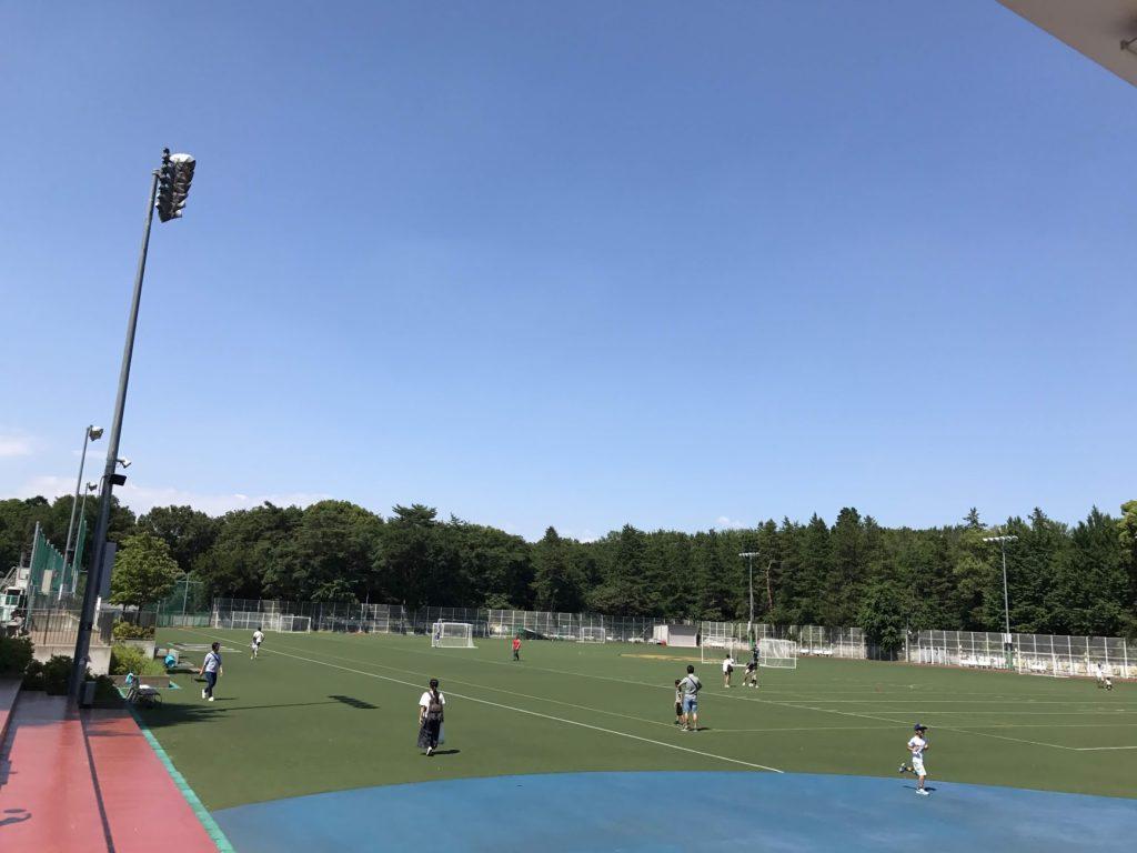 アメリカンスクールインジャパン 広大な敷地